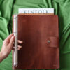 Great recipe leather book cover binder