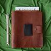 recipe leather book cover binder