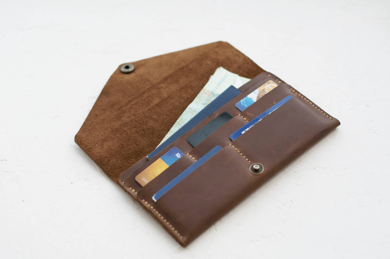 913e817118b8a3 Leather travel wallet Leather wallet men Mens long wallet Wallet card holder  Buy wallet Card wallet Travel document holder
